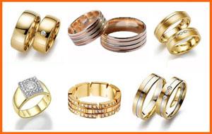 Широкие кольца из золота и серебряные. Обручальные на свадьбу и простые